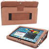 Snugg Galaxy Tab 2 10.1 Case Cover and Flip Stand in Distressed Brown Leather