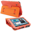 Snugg Galaxy Tab 2 7.0 Case Cover and Flip Stand in Orange Leather