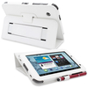 Snugg Galaxy Tab 2 7.0 Case Cover and Flip Stand in White Leather