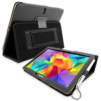 Accessories  - Snugg Galaxy Tab S 10.5 Case in Black Leather