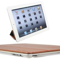 Computer Hardware  - Snugg iPad 2 Ultra Thin Smart Case in Brown