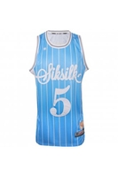 Short Sleeve  - Basketball Blue Vest