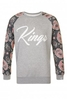 Scribblers Grey Kings Sweater