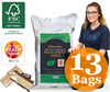Barbecues & Accessories Homefire Kiln Dried Logs - 13 Large Bags (1m3) - Ready to Burn