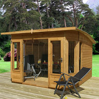 10 x 10 Shiplap Helios Summerhouse - Curved Roof