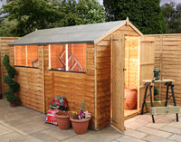 10 x 6 Overlap Apex Shed
