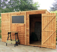 10 x 6 Overlap Pent Shed
