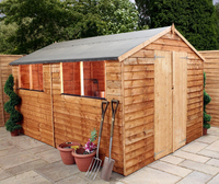 12 x 8 Overlap Apex Shed