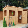 Home & Garden 8 x 4 T&G Pent Shed