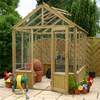 8 x 6 Pressure Treated Greenhouse