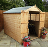 8 x 6 Shiplap OSB Apex Shed - Double Door