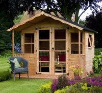 Home & Garden  - 8 x 8 Premium T&G Traditional Summerhouse