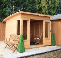 Home & Garden  - 8 x 8 Shiplap Helios Summerhouse - Curved Roof