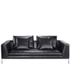Antonio Citterio Charlie Modern Leather Sofa