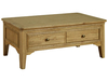 French Style Oak Coffee Table