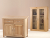 Display Cabinets Solid Oak Glazzed Dresser