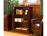 General Furniture  - Waterloo Mahogany Low Open Bookcase 3ft 9