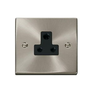 Plugs & Sockets|Plugs  - Click Deco Victorian VP038 5A Round Pin Socket Outlet