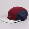 Caps The Quiet Life Runner Five Panel Cap Stone Burgundy