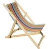 Traditional Folding Wooden Deckchair