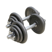 Physiotherapy Equipment  - Fitness Mad 20 Kg Adjustable Dumbbell Set