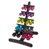 Physical Company Dumbbell Storage Tier with 10pr of Neo Hex Dbells