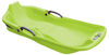 Skiing Adventure Two Seater Snow Sled In Green