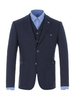Gibson Navy Knitted Jacket Navy