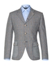 Jackets Gibson The Bloomsbury Plaid Mens Checked Grouse Suit Jacket Blue