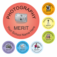 Stickers & Accessories  - Photography Reward Stickers - Classic