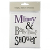 Reference Books Cards - Mummy & Baby Bump Shower