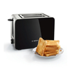 Bosch TAT7203GB Sky 2-Slice Toaster in Black and Stainless Steel