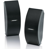 BOSE® 151SE BLACK 151 environmental speakers,  Black