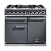 FALCON 102200 (F1000DXDFSL/NM) 1000 DELUXE Dual Fuel Range Cooker,  SLate. Nickel Trim