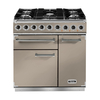 FALCON 115300 (F900DXDFFN/NM) 90cm Deluxe Dual Fuel Range Cooker,  Fawn/N