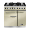 FALCON 77050 (F900DXDFCR/CM) 90cm Deluxe Dual Fuel Range Cooker,  Cream/C