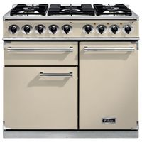 Cookers  - FALCON F1000DXDFCRCG 98470 100cm Deluxe Range Cooker, Cream Finish