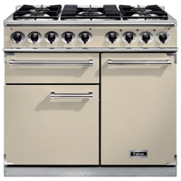 Cookers  - FALCON F1000DXDFCRCM 98610 - 100cm Deluxe Range Cooker, Cream Finish