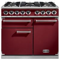 Cookers  - FALCON F1000DXDFCYNM 98630 100cm Deluxe Range Cooker, Cranberry Finish