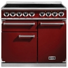 FALCON F1000DXEIRD/N 100140 - 100cm Deluxe Induction Range Cooker,  Red