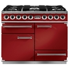 FALCON F1092DXDFRD/NG 87020 1092 de luxe df cherry red nickel