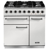 FALCON F900DXDFWHNG 82390 - 90cm Deluxe Dual Fuel Range Cooker,  White