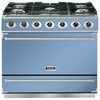 FALCON F900SDFCANG 87430 90cm Single Cavity Dual Fuel Range Cooker,  C Blue