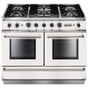 FALCON FCON1092DFWHNGEU 82370 - 110cm 1092 Dual Fuel Range Cooker,  White Finish