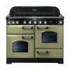 Rangemaster 100950 (CDL110EIOG/C) Classic Deluxe 110cm Induction Range Cooker,  Olive G/C