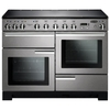 Rangemaster 101540 (PDL110EISS/C) PROFESSIONAL DELUXE 110cm Induction Cooker,  S/Steel