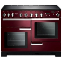 Cookers  - Rangemaster 101570 (PDL110EICY/C) PROFESSIONAL DELUXE 110cm Induction Cooker, Cranberry