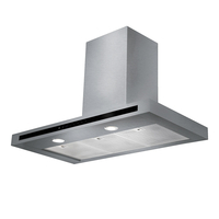 Rangemaster 10541 (HLTHDS100SS) 100cm Hi Lite Flat Chimney Hood Finished in Stainless S