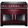 Rangemaster 10562 (EXL110EICY/C) EXCEL 110cm Induction Range Cooker,  Cranberry / Chrome