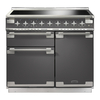 Rangemaster 10579 (ELS100EISL)&8203; Elise 100cm Induction Range Cooker,  Slate / Chrome